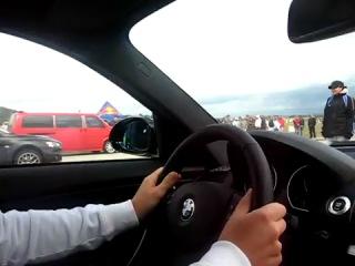 BMW 135i vs. Mitsubishi Lancer Evolution X